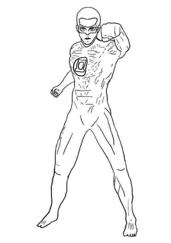 lantern coloring page 25 best coloring pages superheroes images on pinterest lantern page coloring
