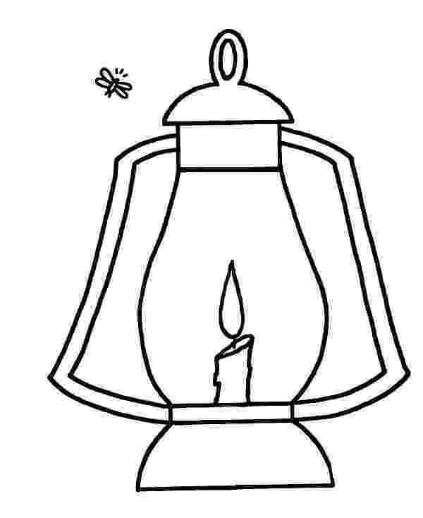lantern coloring page firefly and lantern coloring page color luna lantern coloring page