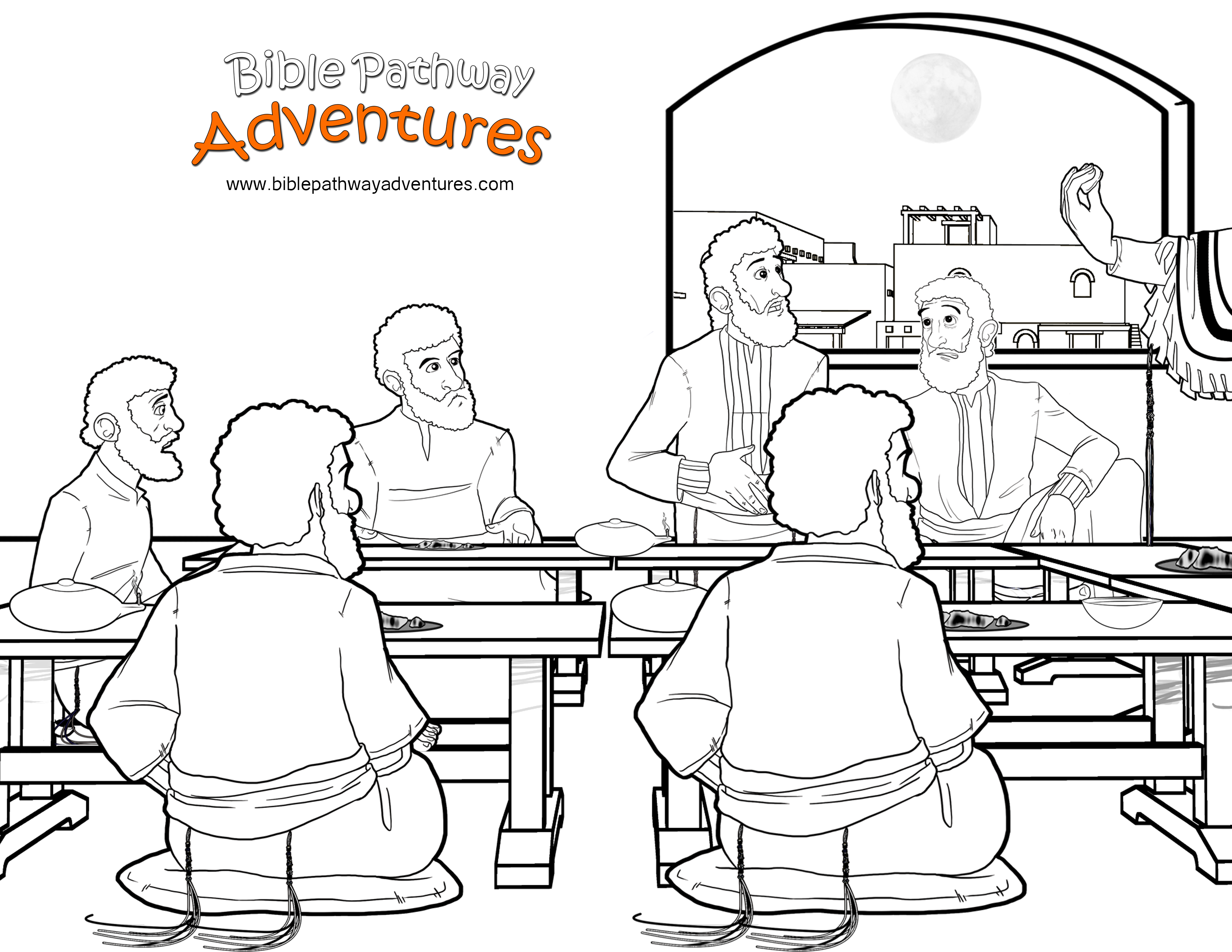 last supper coloring pages 27 best images about the last supper workshop rotation pages supper coloring last
