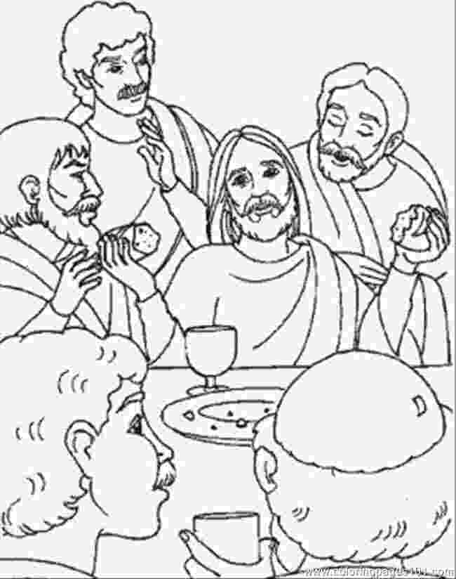 last supper coloring pages 28 best palm sunday images on pinterest pages supper last coloring