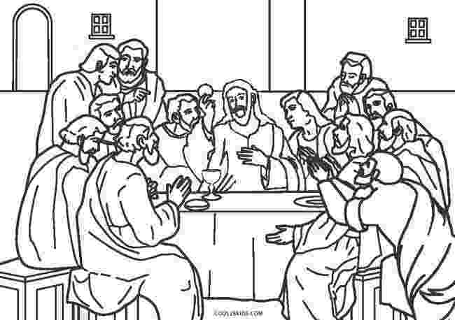 last supper coloring pages holy thursday coloring pages getcoloringpagescom coloring last supper pages