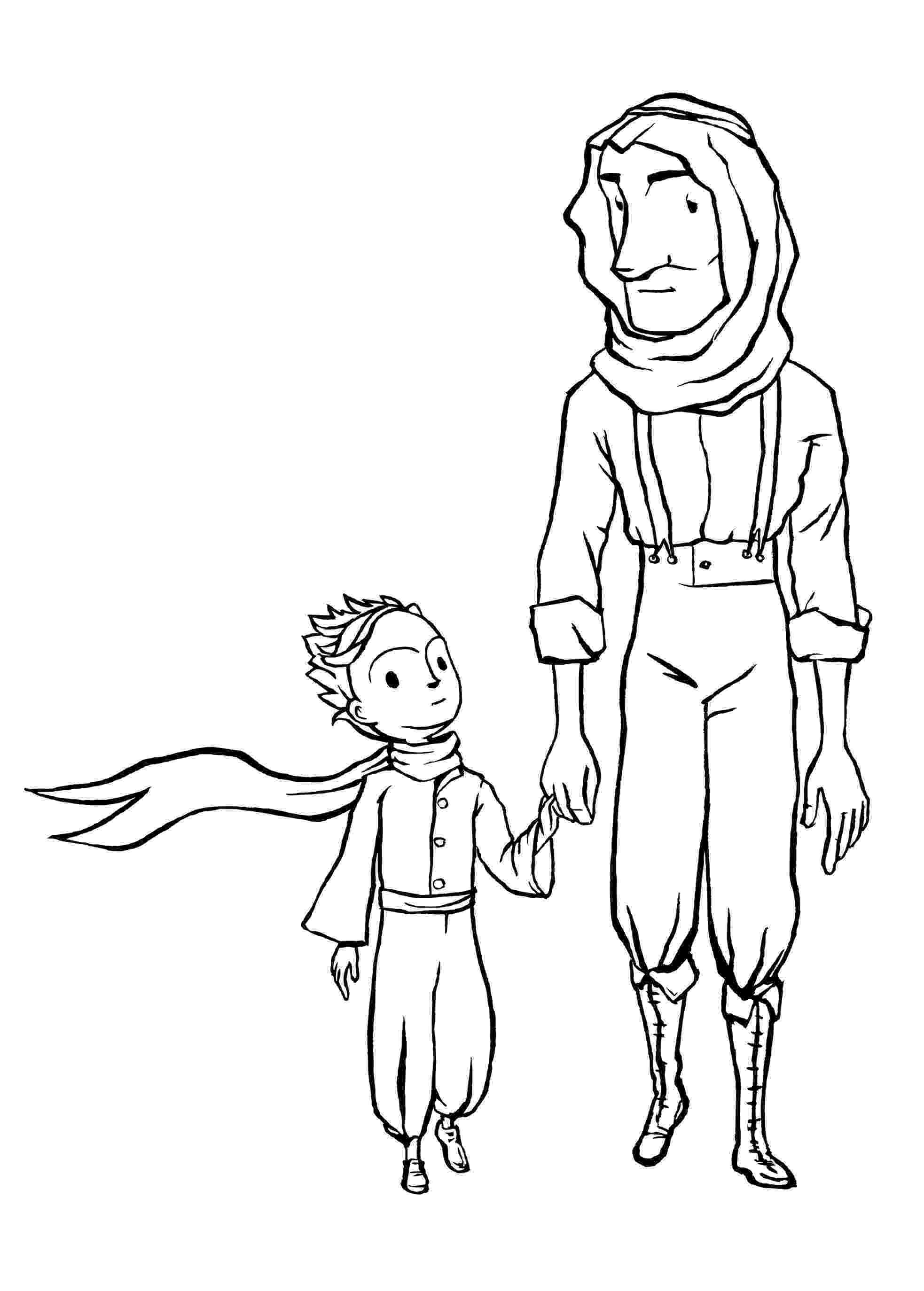 le coloring sheet le petit prince to download for free le petit prince sheet le coloring