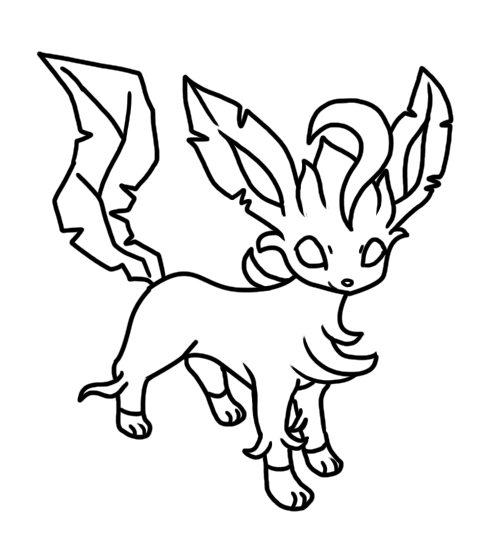leafeon coloring pages glaceon and leafeon coloring pages pages leafeon coloring