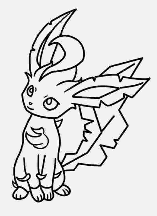 leafeon coloring pages leafeon lineart free to use by bellanoriji on deviantart coloring leafeon pages