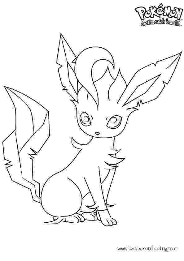 leafeon coloring pages pokemon coloring pages leafeon free printable coloring pages pages coloring leafeon