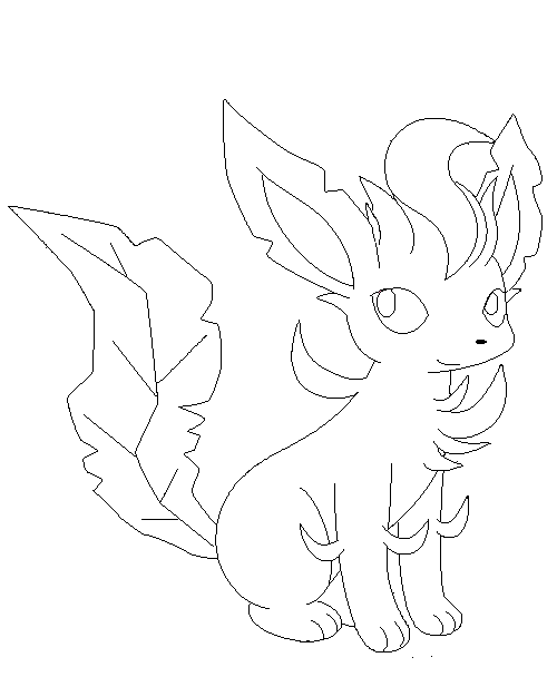 leafeon coloring pages sylveon coloring pages with leafeon by bluekiss131 free coloring pages leafeon