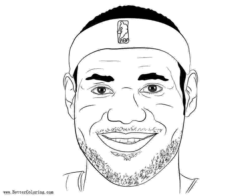 lebron coloring pages lebron james coloring pages by bernard chang free lebron pages coloring