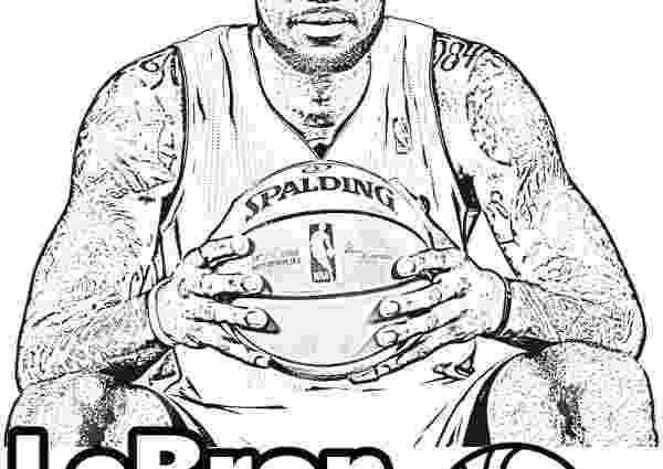 lebron coloring pages lebron james dunk drawing at getdrawingscom free for coloring pages lebron