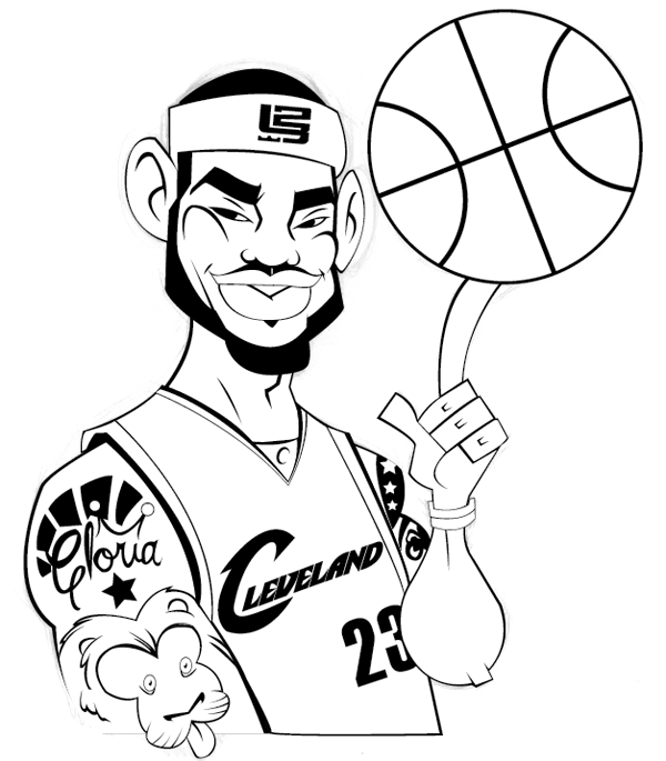 lebron james coloring pages lebron james coloring pages coloring home lebron coloring pages james