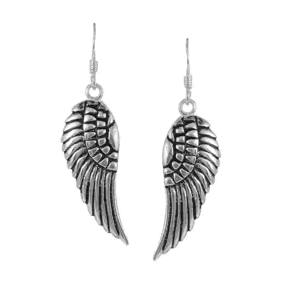 left angel wing angel wing necklace luna stella left angel wing
