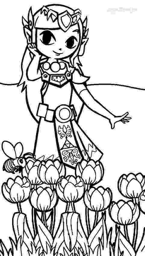 legend of zelda coloring book free printable zelda coloring pages for kids legend coloring book zelda of