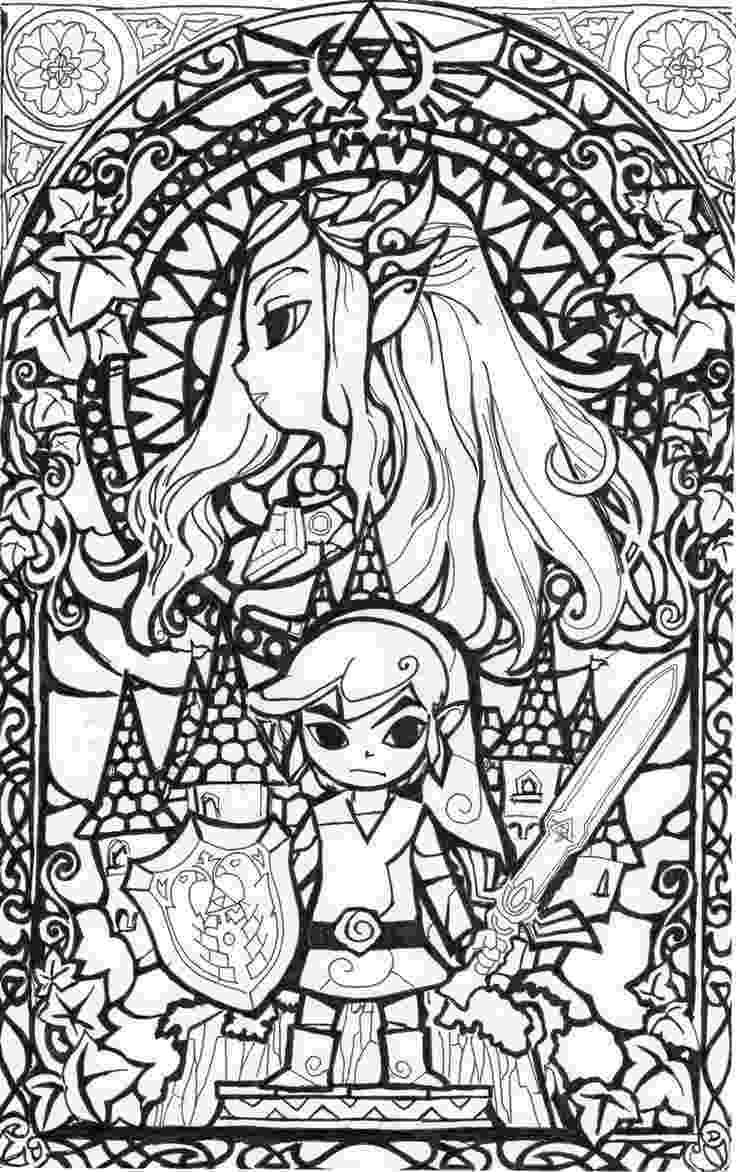 legend of zelda coloring book free printable zelda coloring pages for kids of book coloring zelda legend