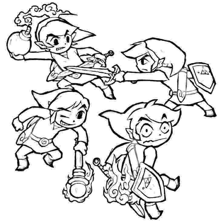 legend of zelda coloring book printable zelda coloring pages for kids cool2bkids legend of zelda coloring book