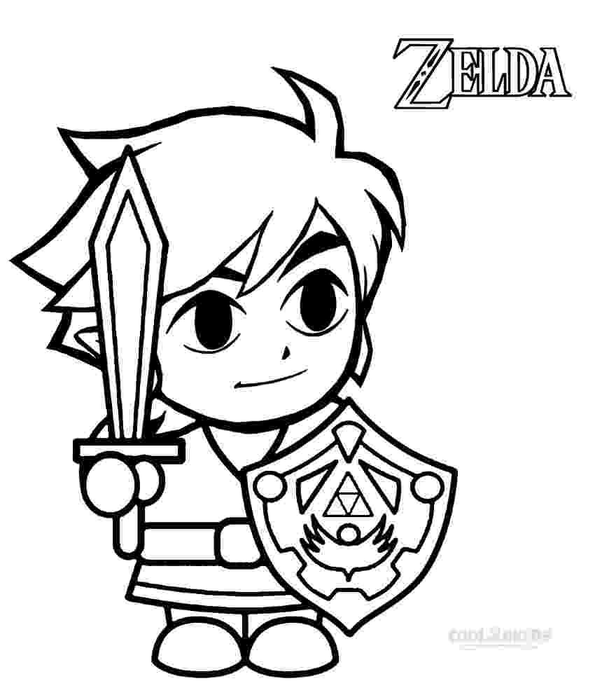 legend of zelda link coloring pages printable zelda coloring pages for kids cool2bkids pages coloring legend link of zelda