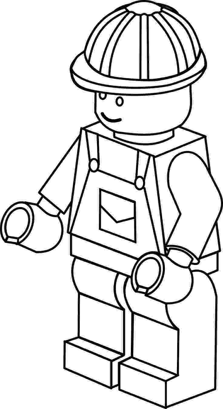 lego figure coloring pages lego figure printable clipart best lego pages coloring figure