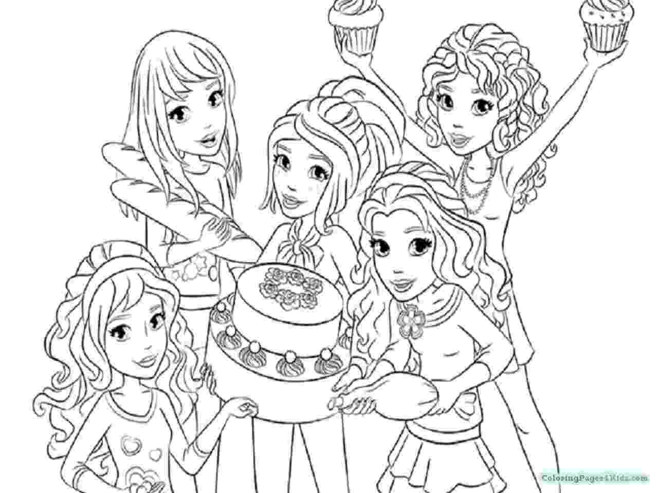 lego friends colouring pictures lego friends all coloring page for kids printable free pictures lego colouring friends