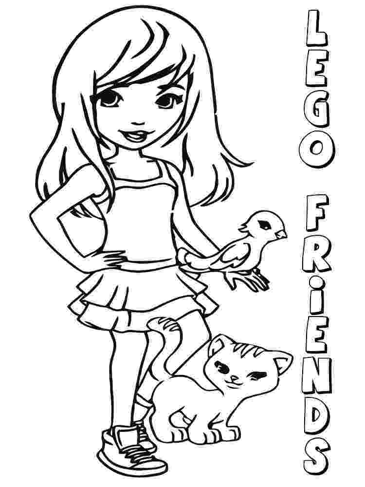 lego friends colouring pictures lego friends coloring pages printable free coloring home pictures lego colouring friends