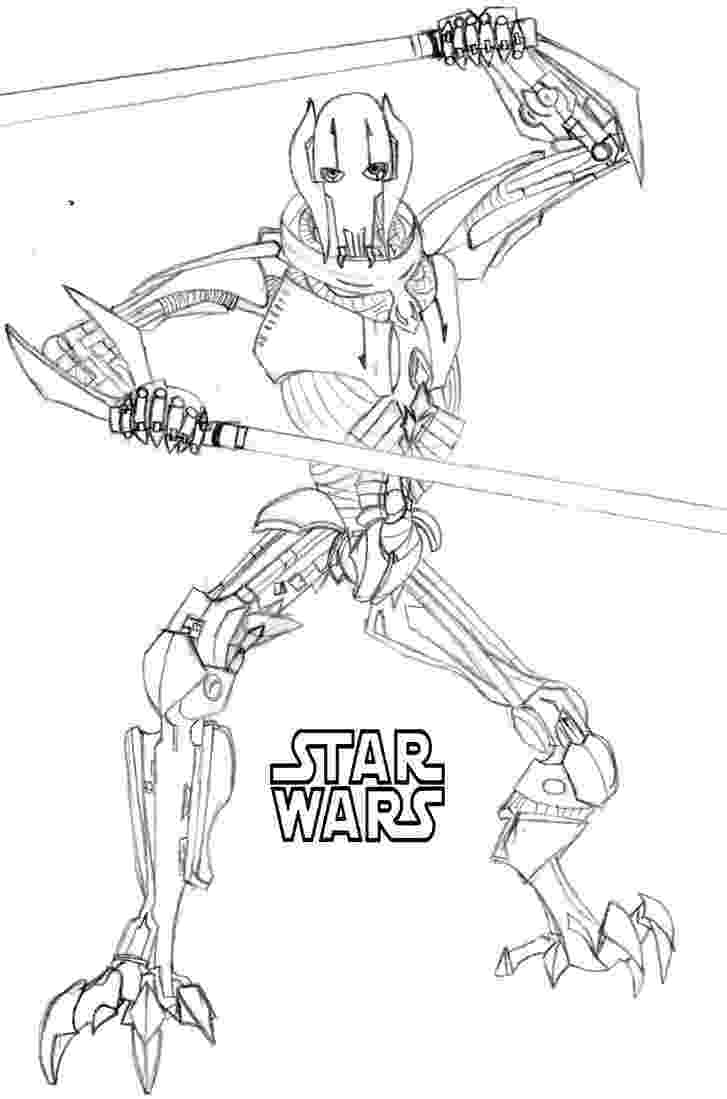 lego general grievous 50 top star wars coloring pages online free general grievous lego
