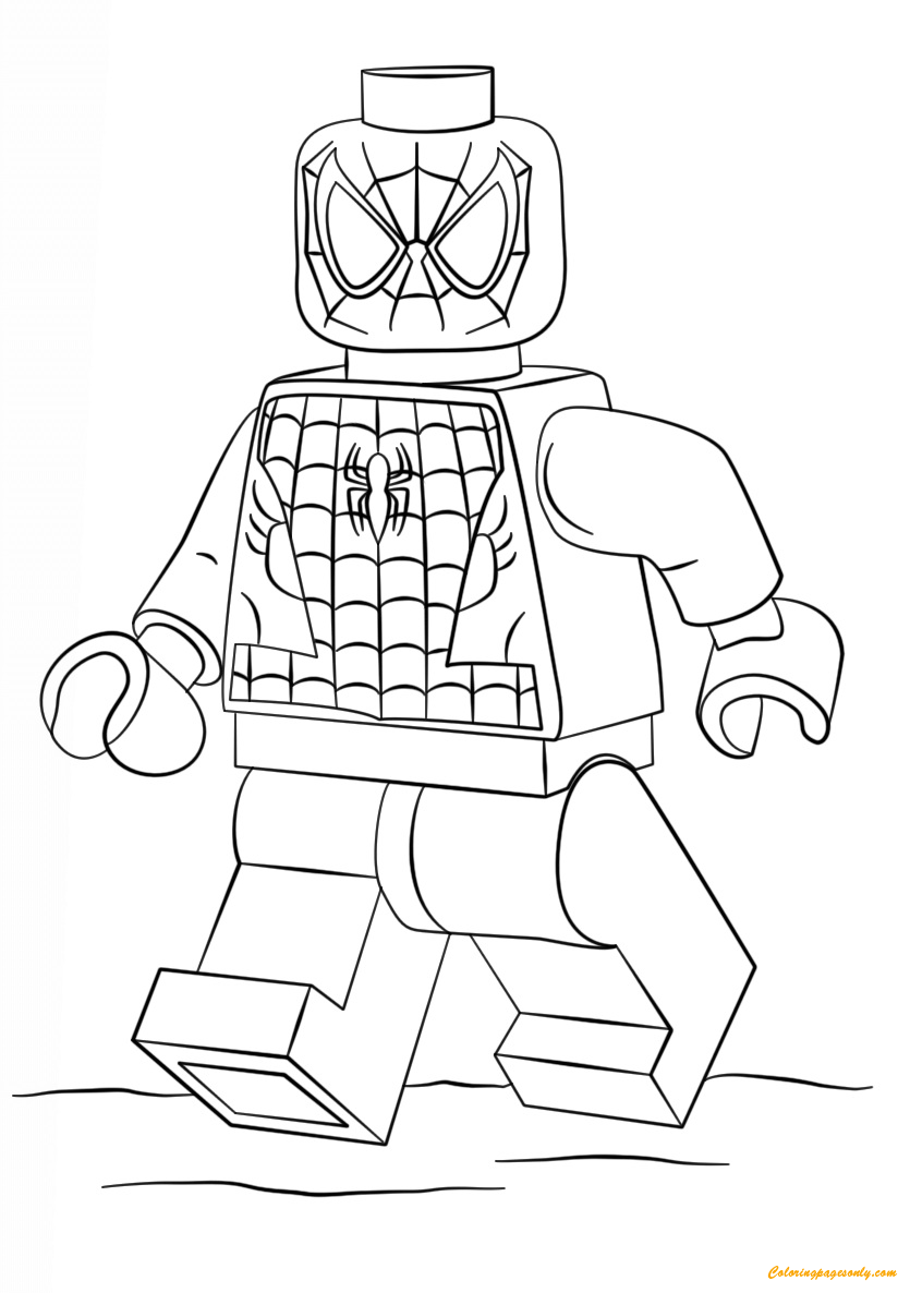 lego super heroes coloring pages lego super heroes spiderman coloring page free coloring pages super coloring heroes lego