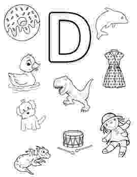 letter d coloring page letter d coloring pages to download and print for free coloring d page letter