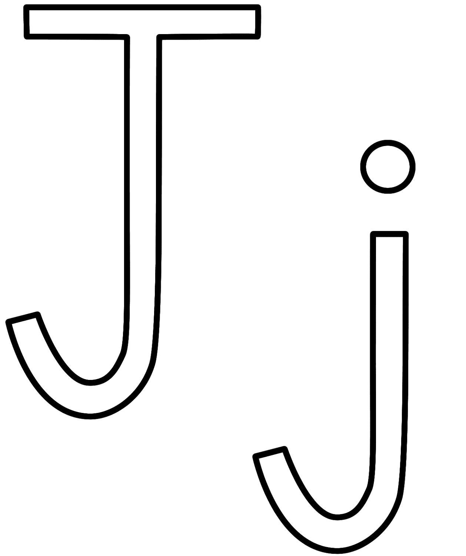 letter j colouring sheets letter j coloring pages getcoloringpagescom sheets letter colouring j