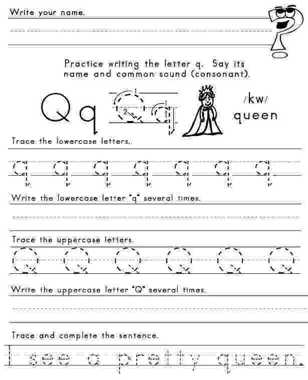 letter q tracing worksheet 15 educative letter q worksheets kittybabylovecom q tracing worksheet letter