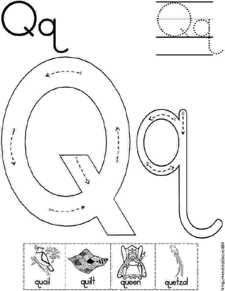 letter q tracing worksheet alphabet letter q worksheet standard block font letter worksheet q tracing