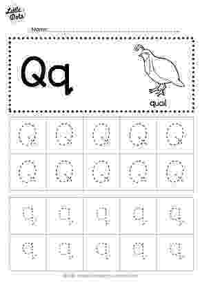 letter q tracing worksheet free printable letter q tracing worksheets for preschool worksheet q letter tracing