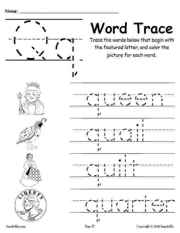 letter q tracing worksheet letter q worksheet tracing coloring writing more worksheet letter tracing q