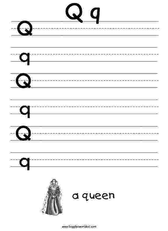 letter q tracing worksheet letter q worksheets homeschooldressagecom tracing letter q worksheet