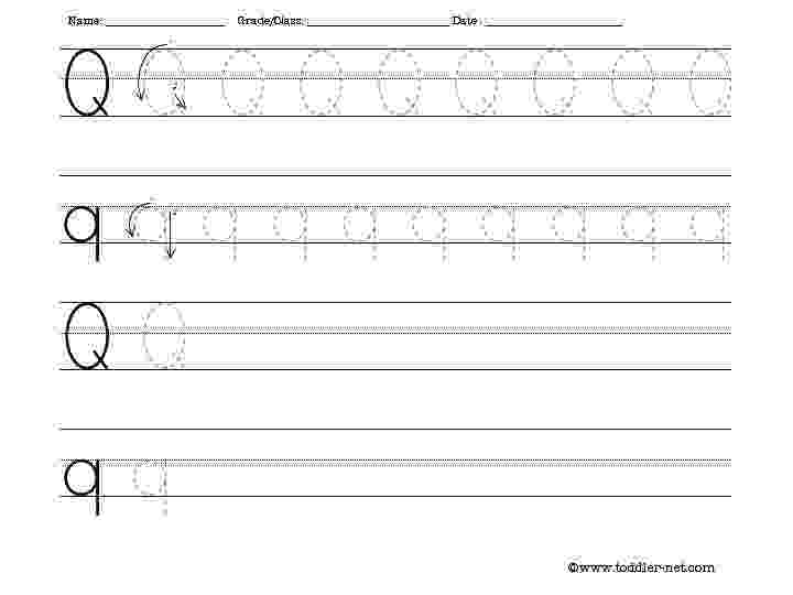 letter q tracing worksheet the letter q sight words reading writing spelling q worksheet tracing letter