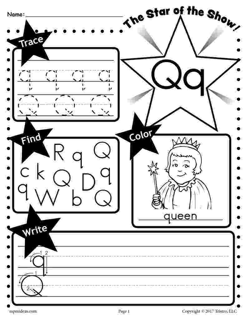 letter q tracing worksheet tracing letter q worksheet worksheet q tracing letter