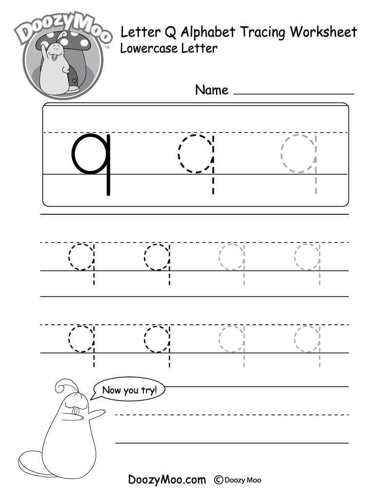 letter q tracing worksheet uppercase letter q tracing worksheet doozy moo tracing worksheet letter q