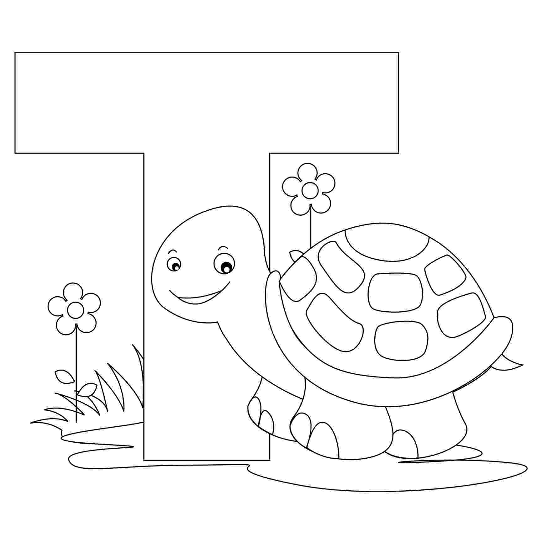 letter t animal coloring pages letter t coloring pages getcoloringpagescom t letter animal coloring pages