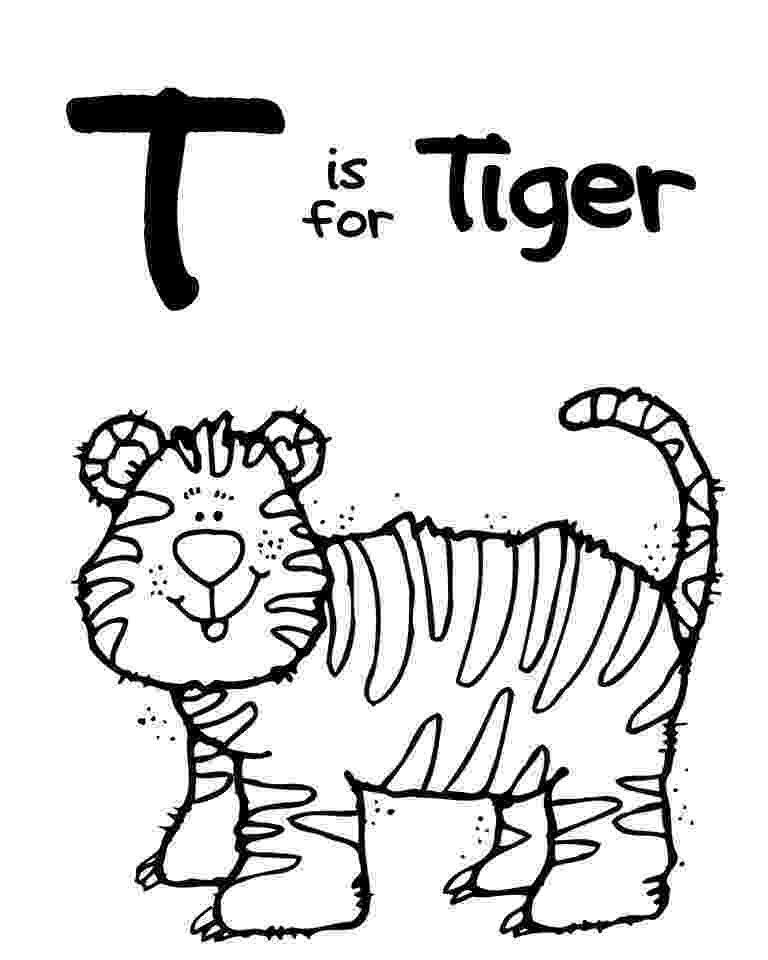 letter t animal coloring pages we love being moms letter t tiger coloring animal letter t pages