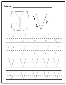 letter v tracing letter tracing worksheets letters u z v tracing letter
