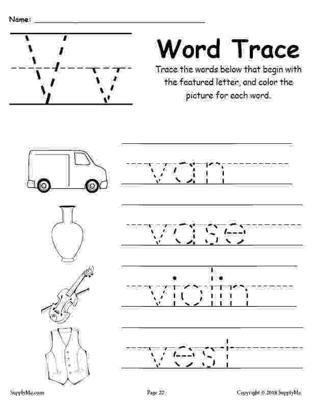 letter v tracing letter v writing and coloring sheet tracing v letter