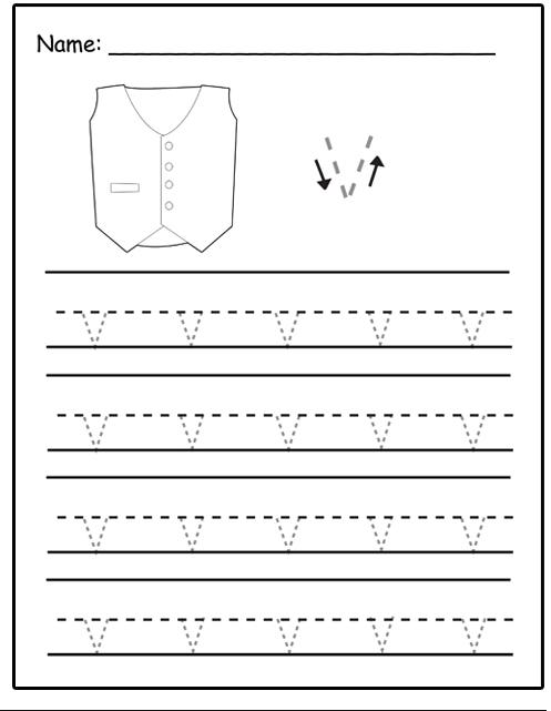 letter v tracing uppercase letter v tracing sheet preschool crafts v tracing letter