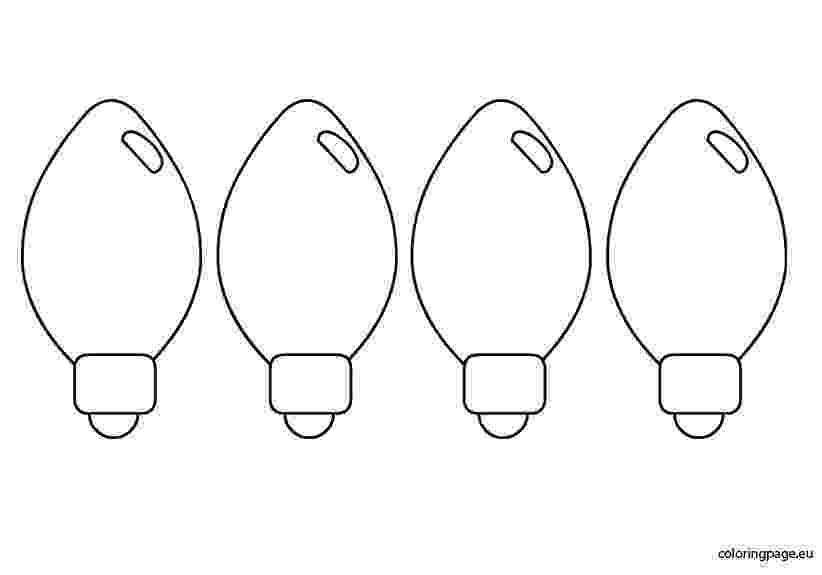 light bulb printable light bulb coloring pages clipart best bulb light printable