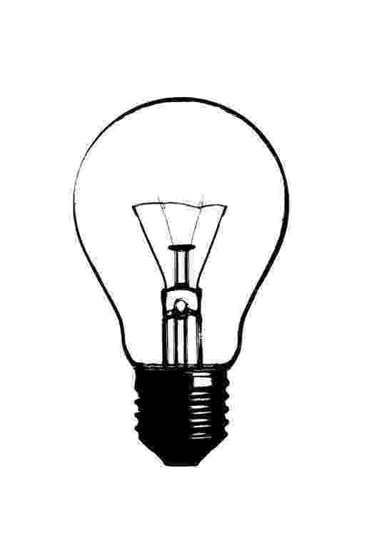 light bulb printable light bulb picture coloring pages download print bulb light printable