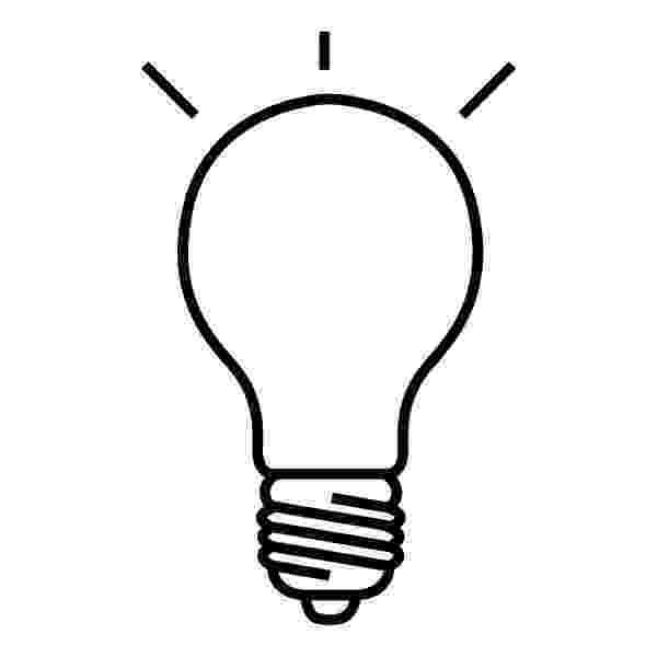 light bulb printable lightbulb template free download best lightbulb template light bulb printable