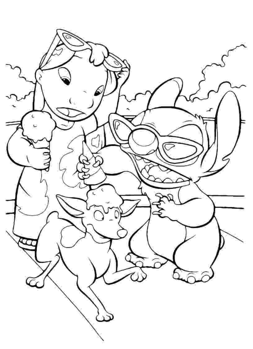 lilo and stitch colouring pages printable lilo and stitch coloring pages for kids cool2bkids stitch and colouring pages lilo
