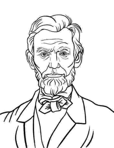 lincoln coloring page abraham lincoln coloring page lincoln page coloring