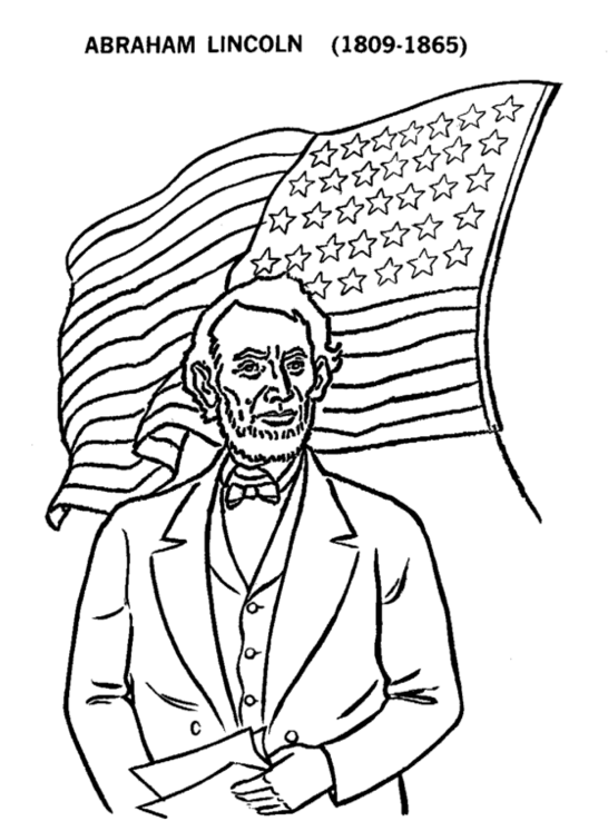 lincoln coloring page fierce presidents coloring pages free yescoloring usa lincoln page coloring