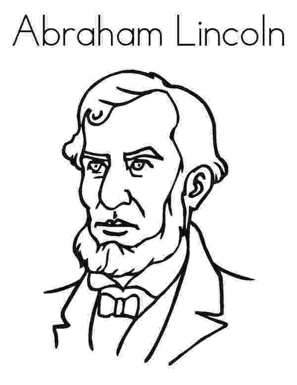 lincoln coloring page president abraham lincoln facts ponder monster lincoln page coloring