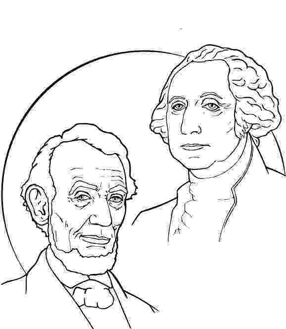 lincoln coloring page usa printables president abraham lincoln 16th president lincoln coloring page