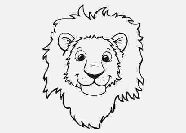 lion face coloring page free picture of a lion face download free clip art free page face lion coloring