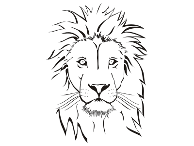 lion face coloring page lion face coloring pages getcoloringpagescom face page lion coloring