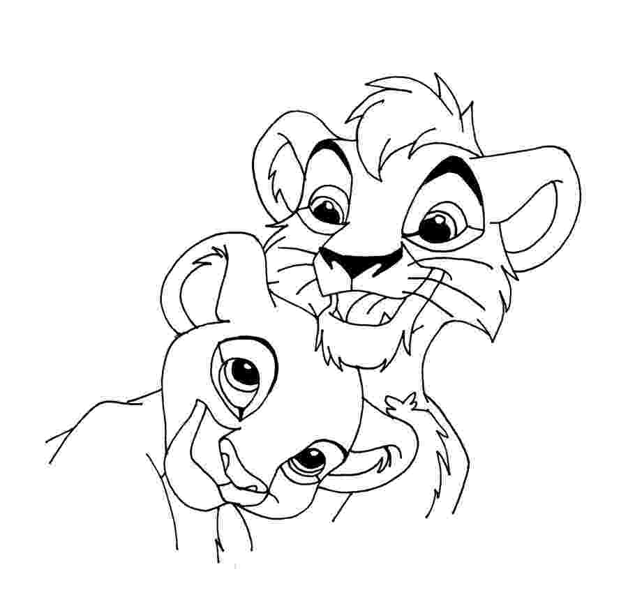 lion king 2 coloring pages top 25 free printable the lion king coloring pages online king lion pages 2 coloring