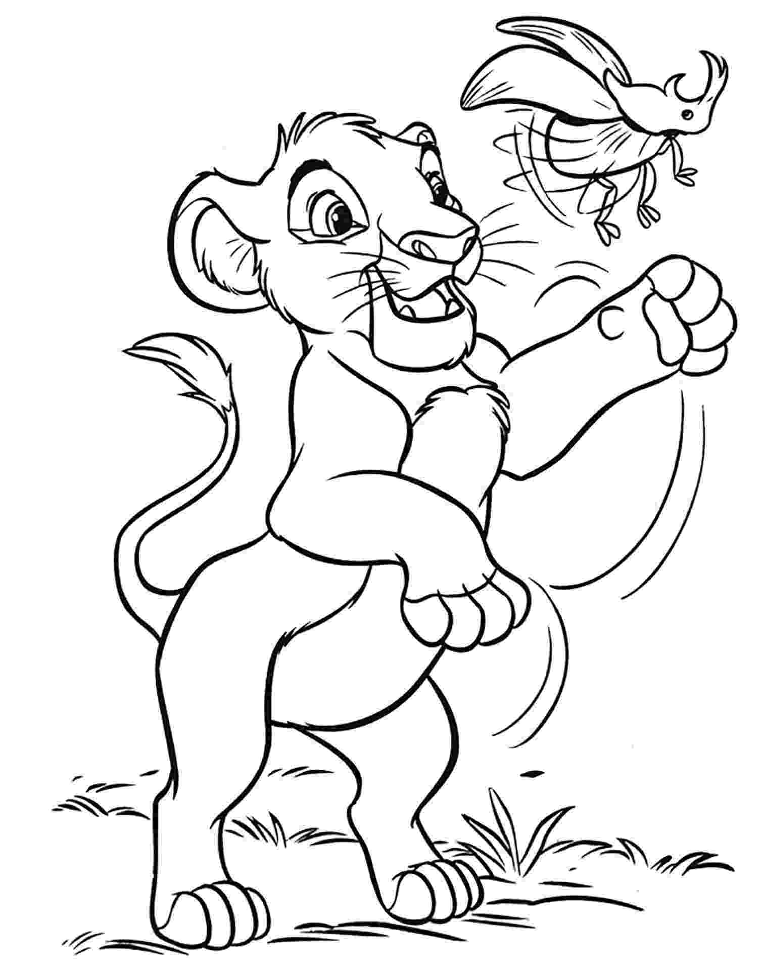 lion king coloring book pages disney coloring pages lion king free large images lion pages book coloring king